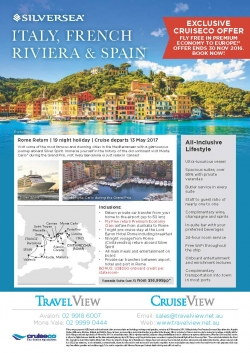 Silversea - Italy, French Riviera & Spain