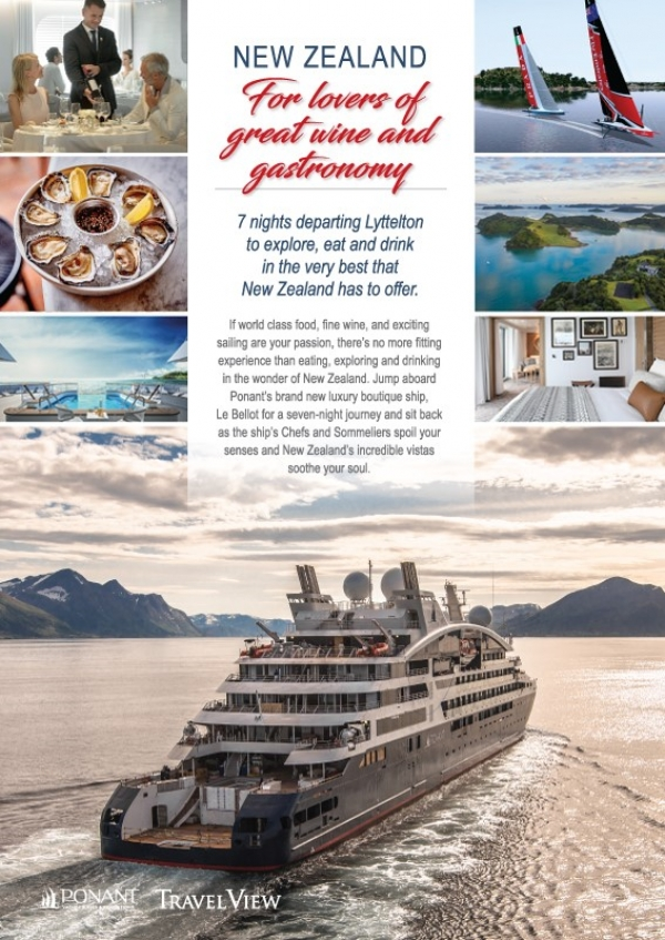 Cruise New Zealand and Experience Fine Wine and Gastronomy in 2021