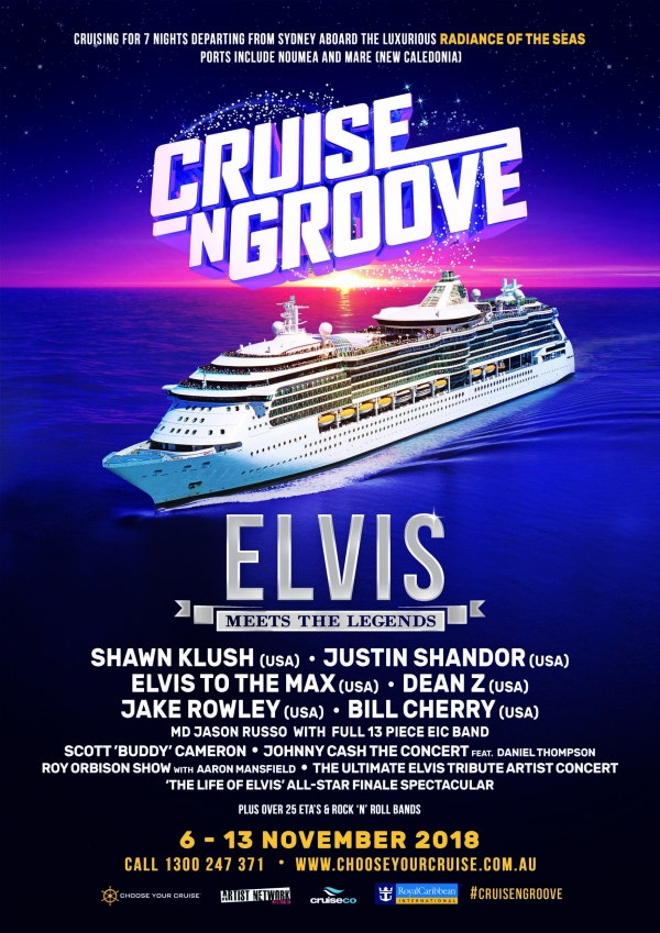 Elvis Meets the Legends - Cruise 2018