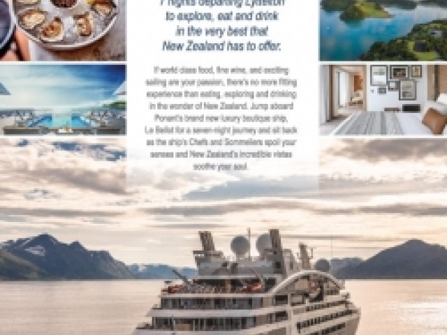 Cruise New Zealand and Experience the America's...